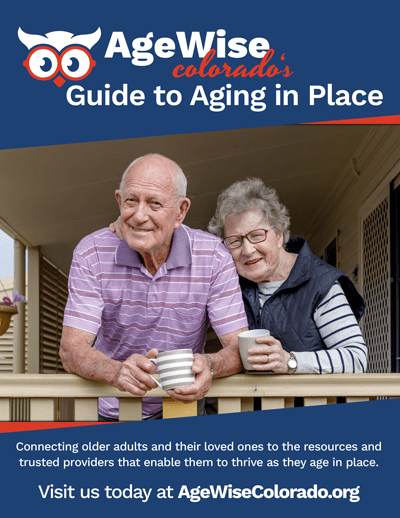 Cover for Aging in Place Guide by AgeWise Colorado